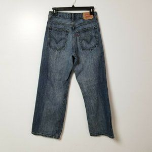 Levis 569 Jeans Boys 14 Reg Measures 27x27 Loose